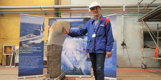 Technologie – Naval Group et l'Ecole centrale de Nantes impriment une pale d'hélice de navire en 3D