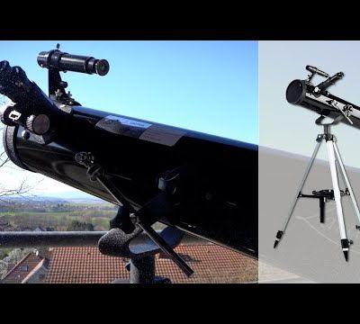 Le GRAND test du télescope à réflexion ZAVARIUS