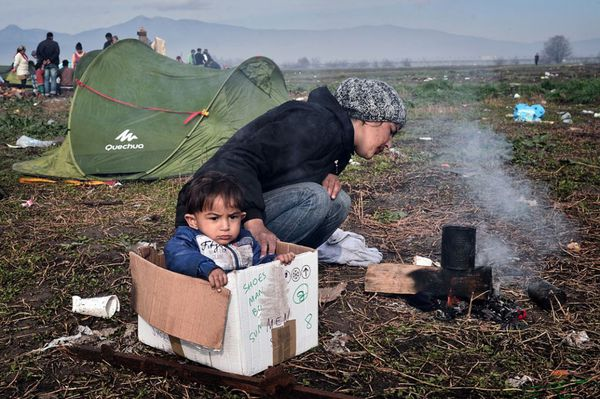 L'attente sans fin à la frontière gréco-macédonienne