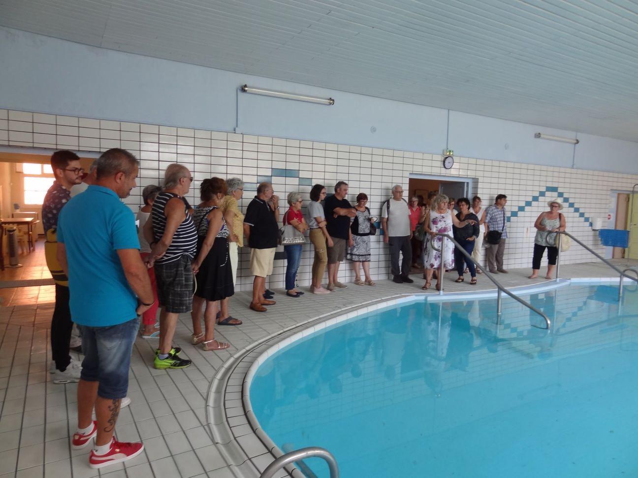 Evelyne Marigo accueille les visiteurs aux fêtes du patrimoine (photoDDM.ZG)