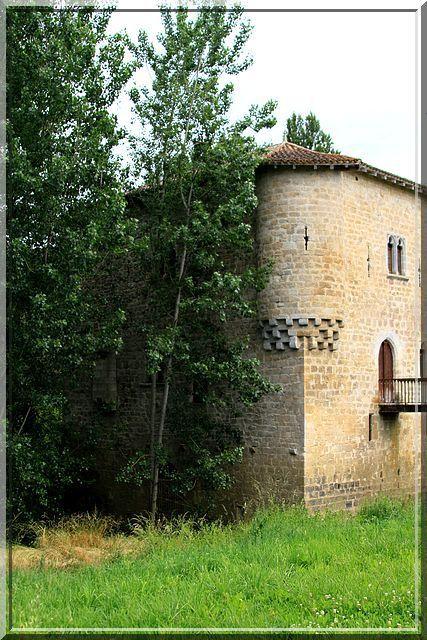 Diaporama moulin fortifié de Bagas