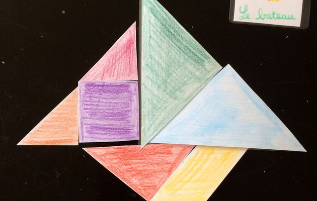 Les figures géométriques autour du tangram