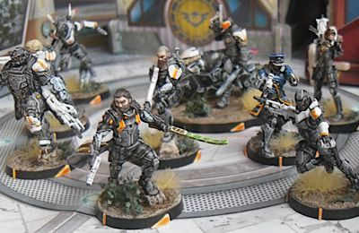 Infinity - O-12 - Saladin & Starmada Action Pack Complet