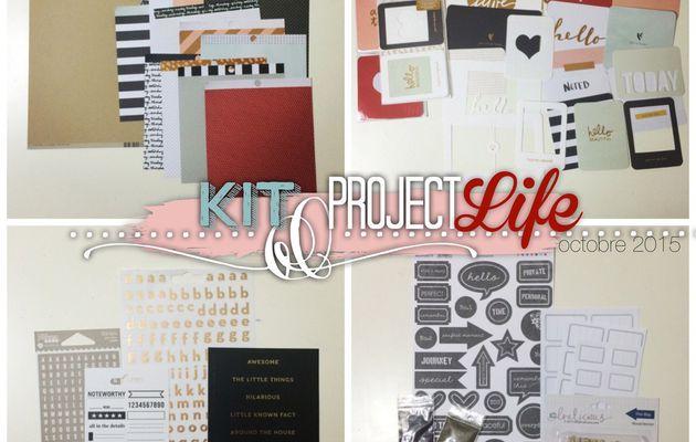 Le kit Projec Life d'octobre