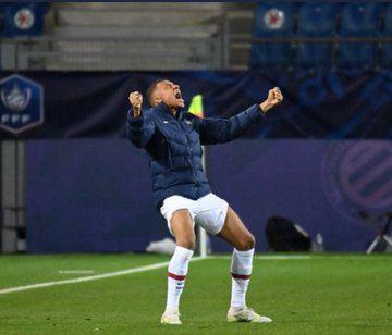 Mbappé et TAB pour  accéder à la finale de la coupe de France