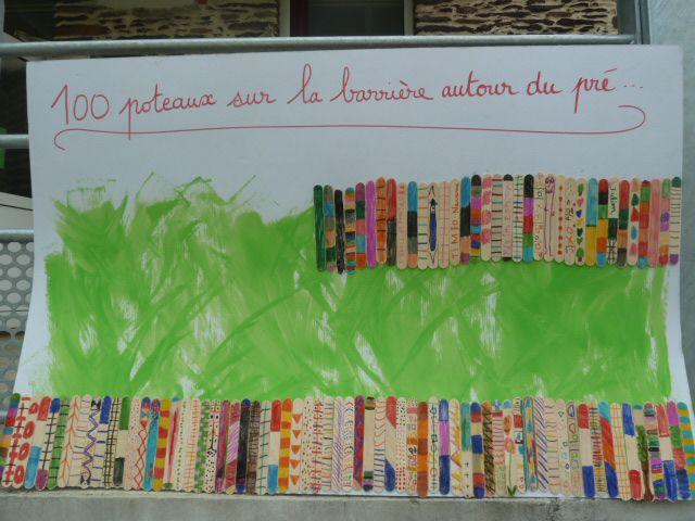La fête du 100ème jour d'école