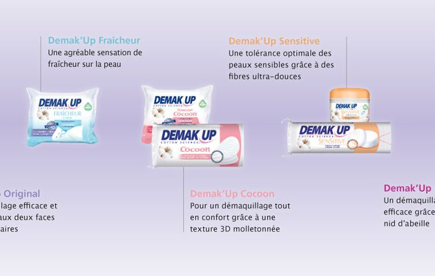 Campagne Demak'up Adapt en compagnie de TRND