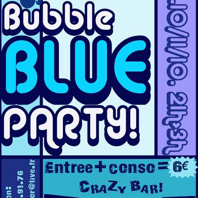 Bubble BLUE Party!
