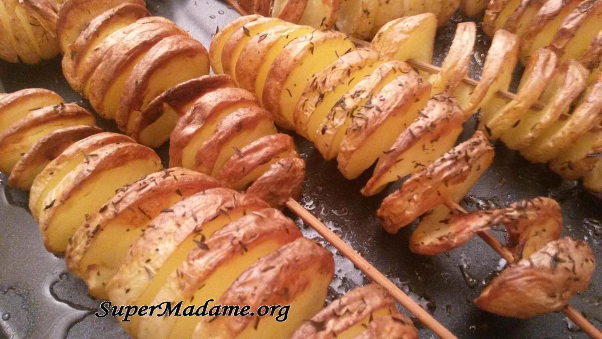 Recette esbrouffe pas chère avec des pommes de terre