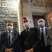 Gérald Darmanin à la grande synagogue de la Victoire pour l'office de Chabbat - MOINS de BIENS PLUS de LIENS