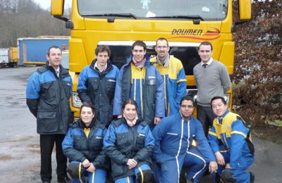 Stage Technique ( Michelin,Transports Doumen sas) du 25/au 28/01/2011