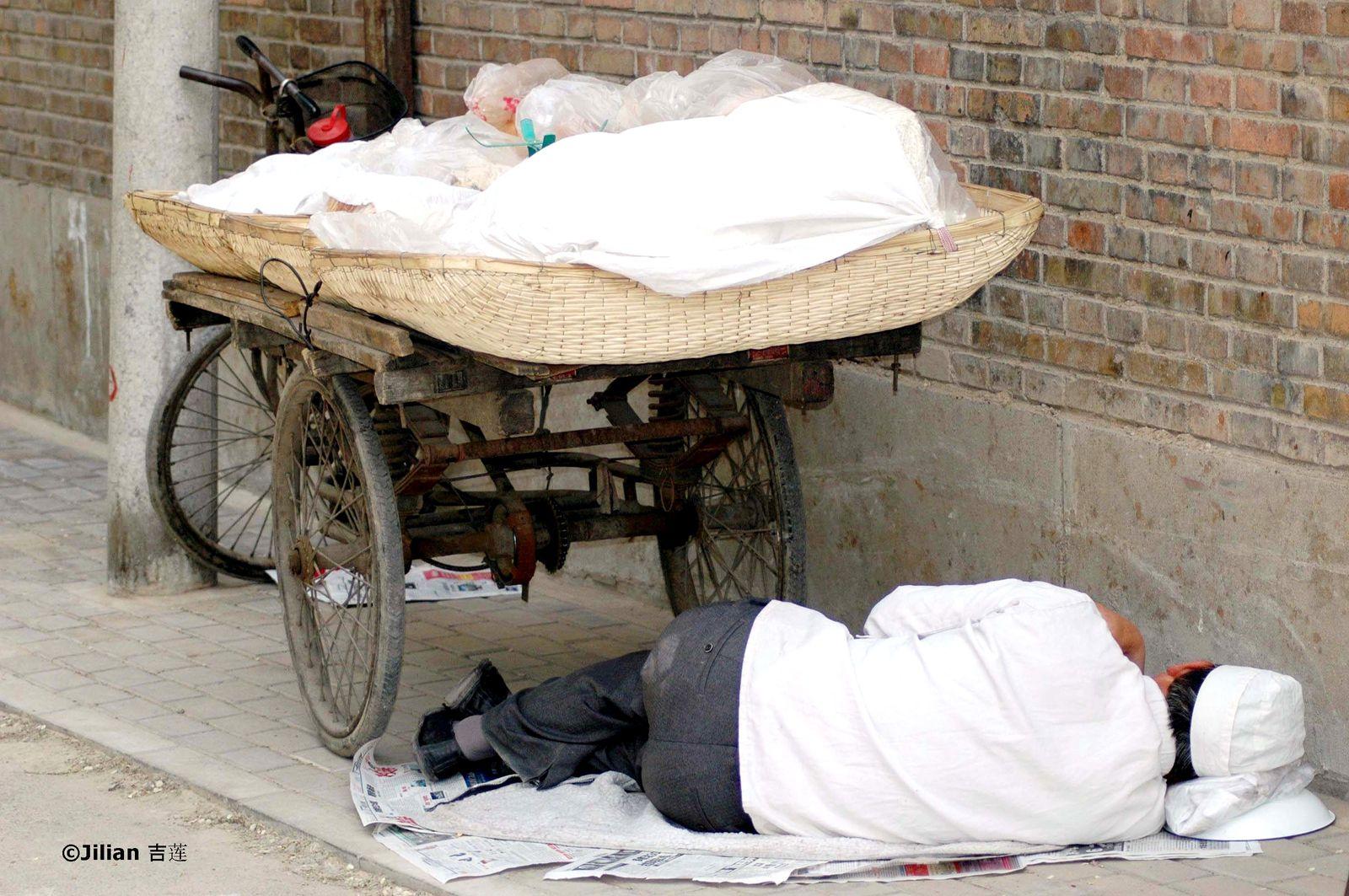 Les chinois à l'heure de la sieste - 午睡时间的中国人