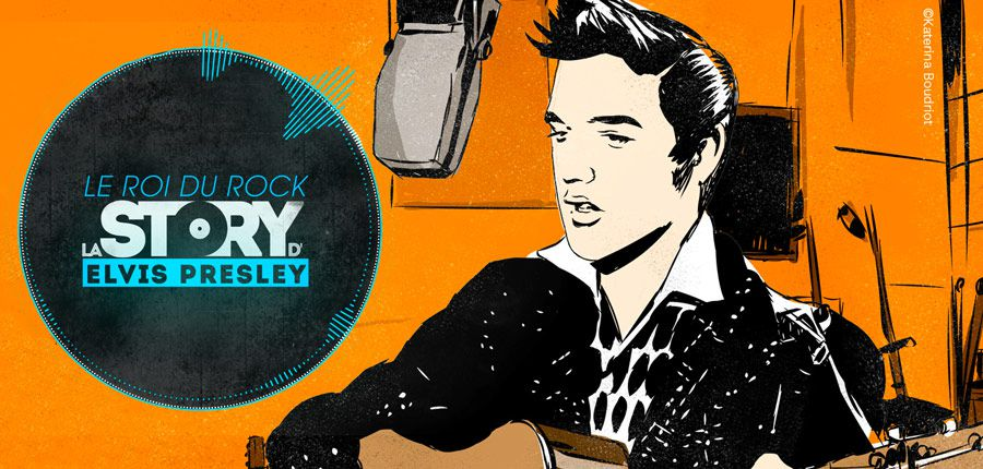 CSTAR raconte ce soir la story d'Elvis Presley