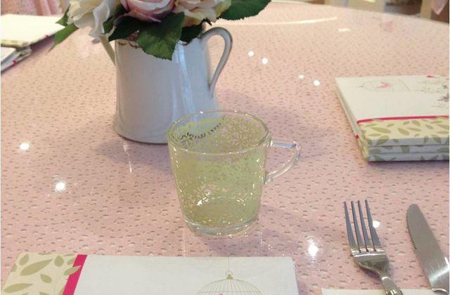 Au Buttercup, le salon de thé anglais en rose et vert
