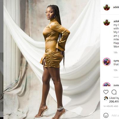 It's Simi Adekunle's Birthday!!! As Adekunle Gold took to instagram to celebrate her