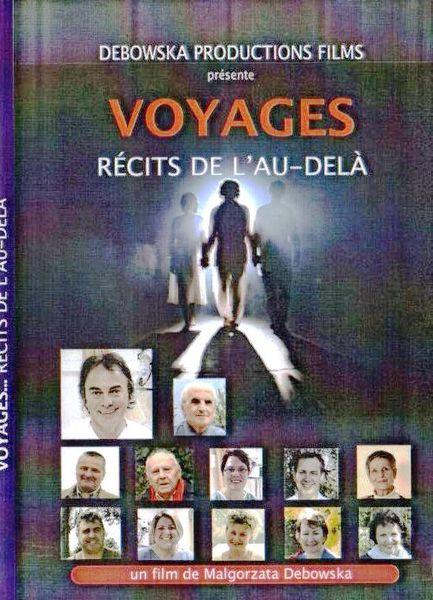 """DVD   """"VOYAGES""""   Récits de l'Au-delà"""