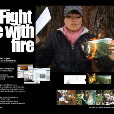 WWF Colombia: Forest Fire.