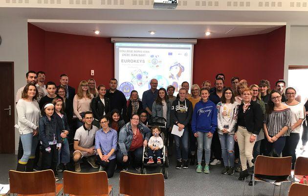 Eurokeys: un mois pour découvrir une école et une famille européenne