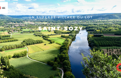 Saint-Sozy, un joli village du Lot
