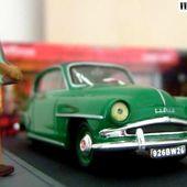 FASCICULE N°14 SIMCA ARONDE GRAND LARGE 1/43 ETAPE LE NOUGAT DE MONTELIMAR. - car-collector.net