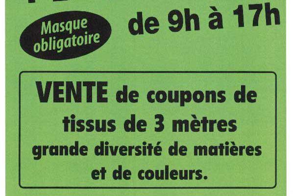 Vente de coupons à Thoiré-sur-Dinan