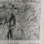 """Renée Dunan """"Amours anglaises"""" (1935)"""
