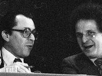 Congrès de Metz : Michel Rocard et Jean-Pierre COT