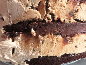 Layer Cake Peanut Butter, Cookie Dough & Brownie