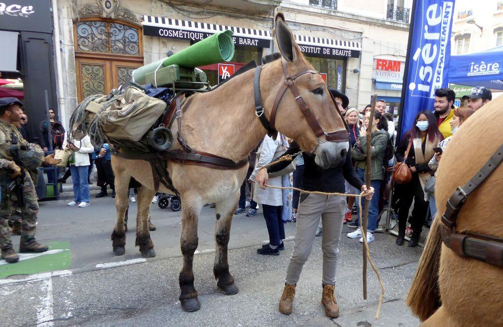 Au gré de la 11e descente des Alpages, Grenoble 9 octobre 2021
