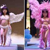 Société décadente : Provoquer la pédophilie lors d'un défilé de mode avec des petites filles de 5 ans ? - MOINS de BIENS PLUS de LIENS