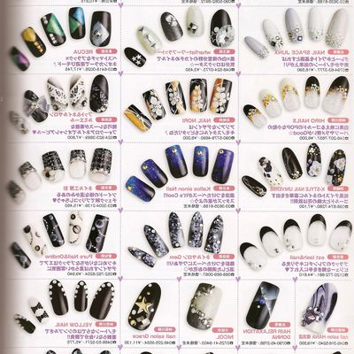 Exemples Nail Art from Japan