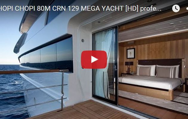 VIDEO - à la découverte du superyacht Chopi-Chopi du chantier CRN