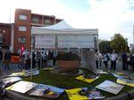Toulouse 21 septembre 2014 Discours de PJC sur le rond point du 21 septembre 2001