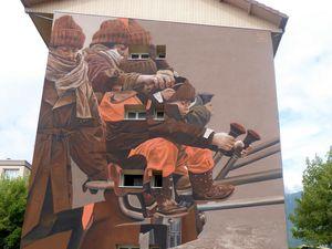 Festival de Street Art de Grenoble, terminé et en cours..