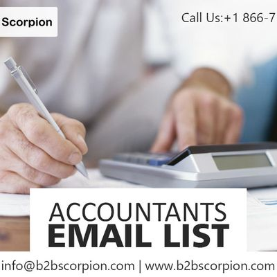 Where to buy Accountants Email List?