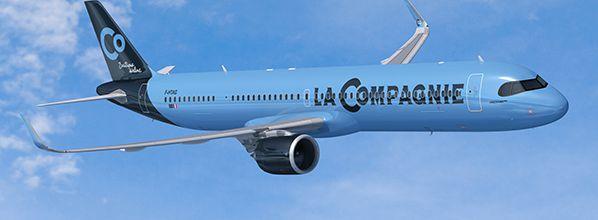 La Compagnie dévoile la nouvelle expérience 100% business de ses A321neo