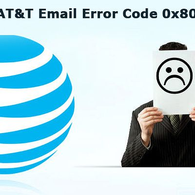What is AT&T Email error code 0x800CCC0F?