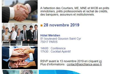 APIC :  8ème Convention Nationale le 28 novembre 2019