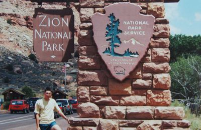 Zion National Park (30 juillet 2001)