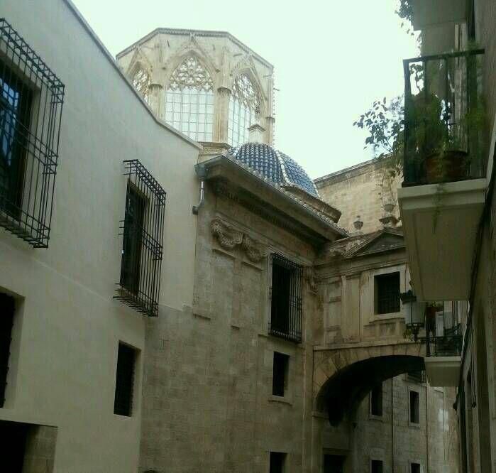 Valencia - la cathédrale.