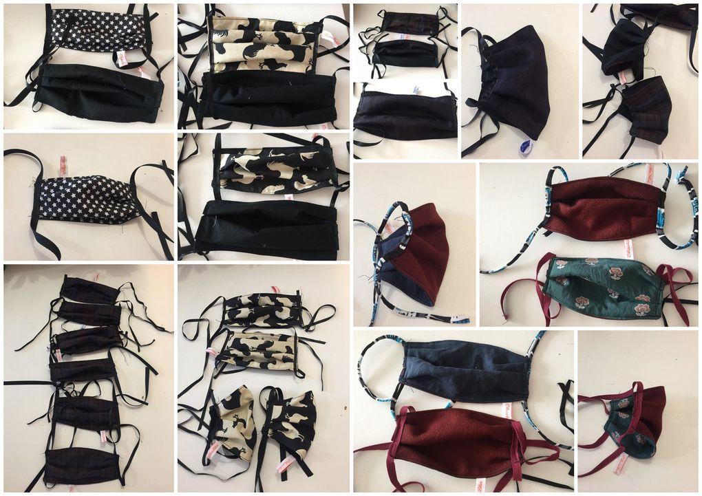 masque de protection  fait main sur charlotteblabla blog
