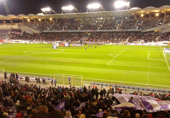 ben just checked in @ Stadium Municipal (Toulouse, France)