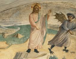 Homélie du premier dimanche de carême (2018): Jésus tenté au désert