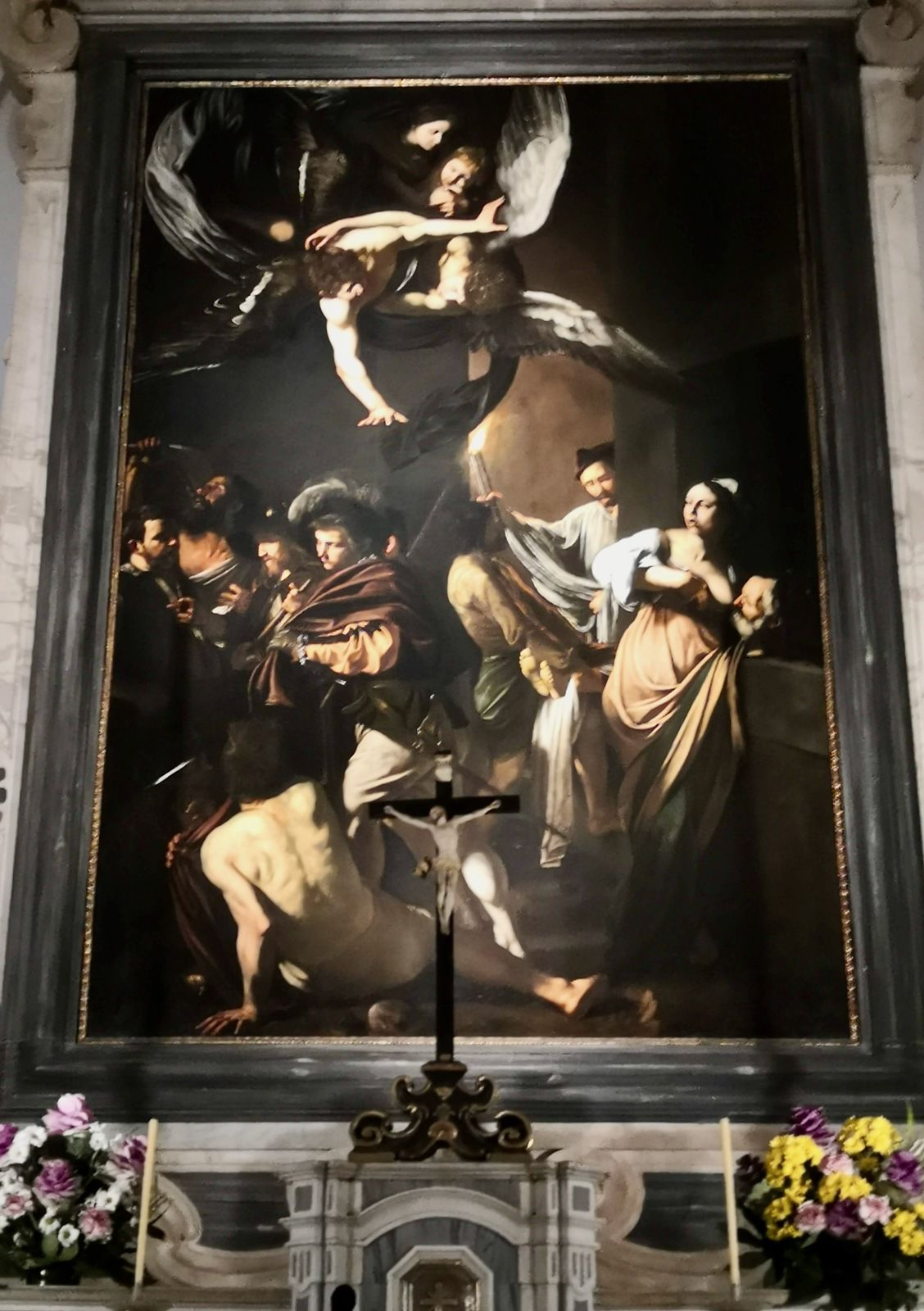 Le Caravage, les sept Œuvres de la Miséricorde, Pio Monte delle Misericordia