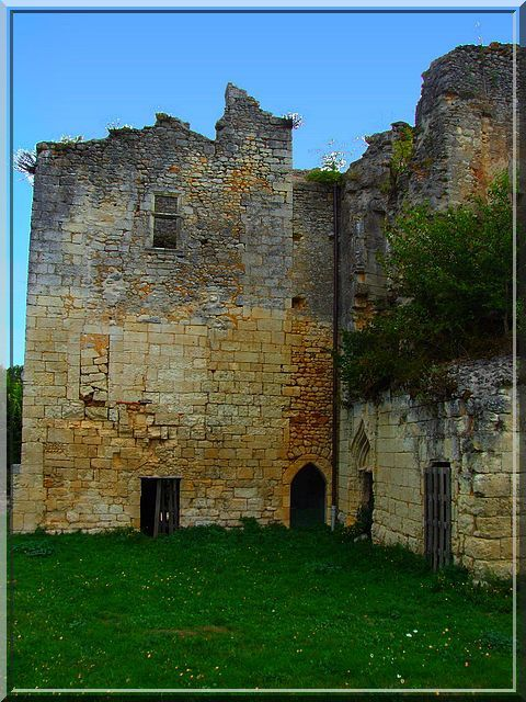Diaporama château de Barrière à Villamblard