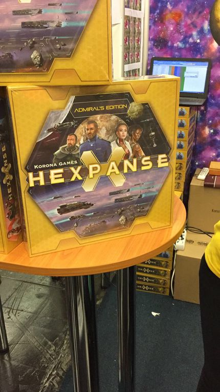 The Hexpanse mais c'est pas The Expanse, Rambo ....et Hunt for the ring ..Il y en a partout !