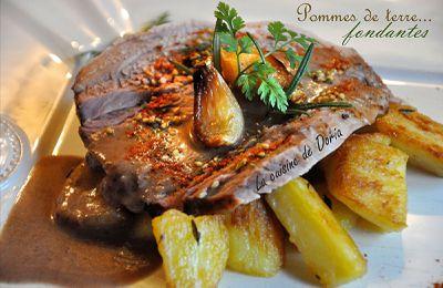 Palette de porc et pommes de terre fondantes à l'italienne
