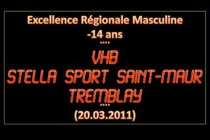 -14M1 STELLA SAINT-MAUR vs VHB (20.03.2011)