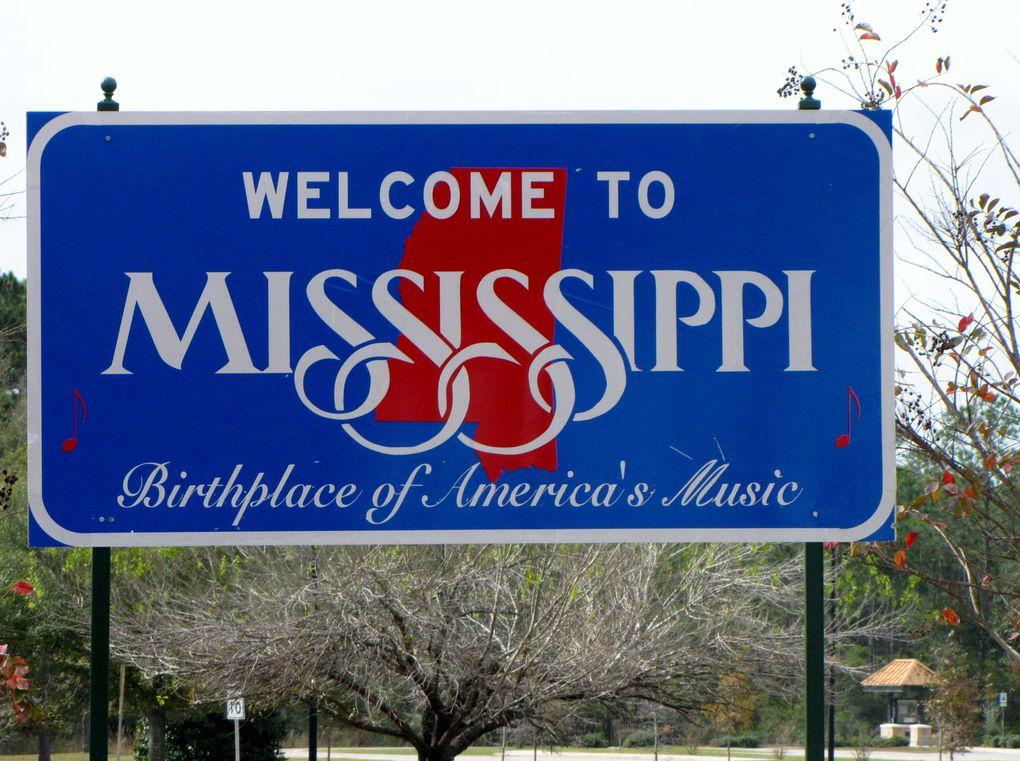 Il gele a Montgomery, Louisiane, visite de Montgomery et Atlanta....