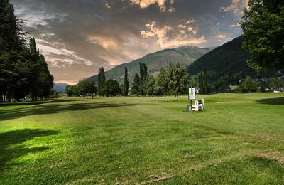 Un jour, une photo : le golf municipal de Luchon...